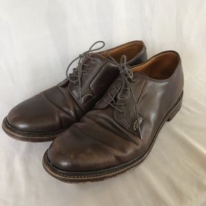 J Crew Ludlow Blucher Shoes Size 10.5